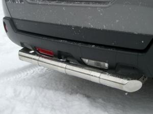 NISSAN X-Trail защита заднего бампера d63 NXZ-000093